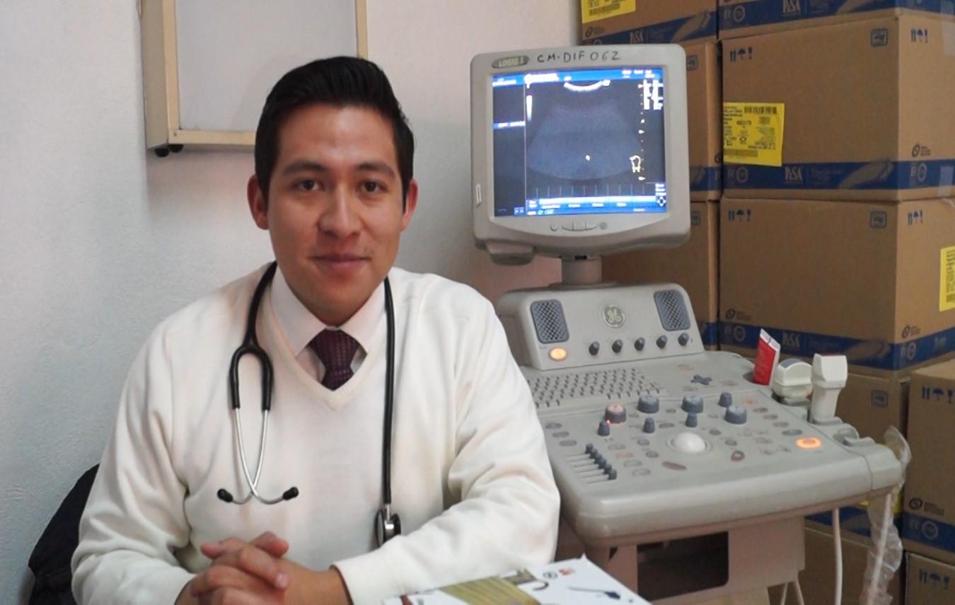 Se reactiva el servicio de ultrasonido en DIF Calpulalpan