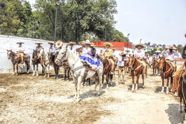 Rancho Los Álamos por sus fueros y defienden con categoria su corona 2018