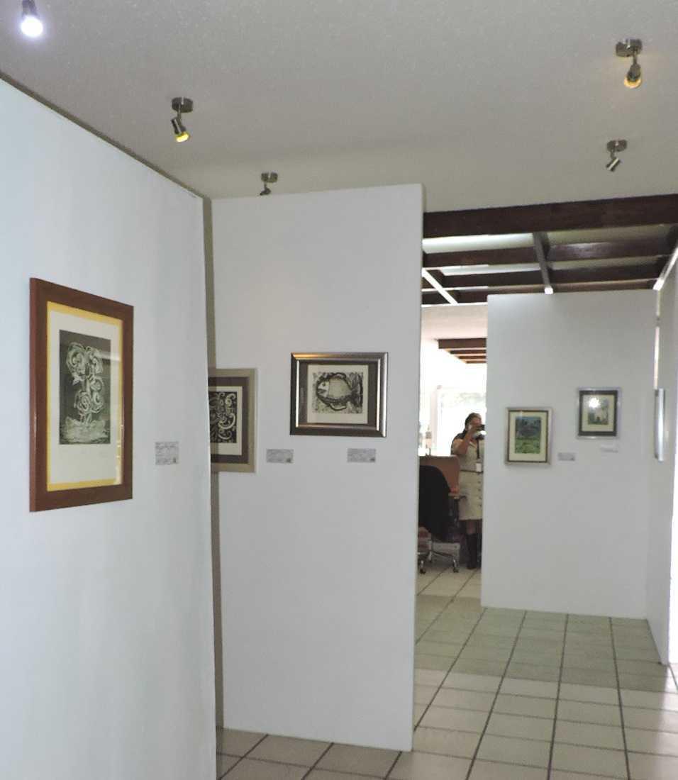 "Expo ""Estampas Venusinas"" en Lobby de representación IMSS Tlaxcala"
