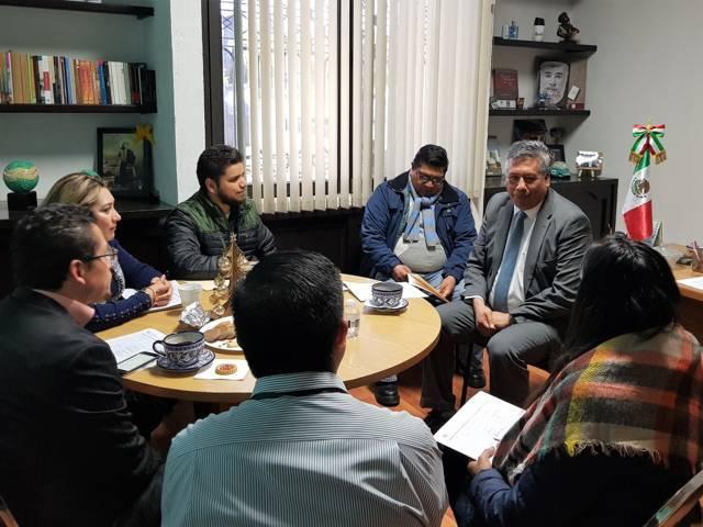 Realizan Sexta Sesión Ordinaria y Reunión de trabajo del Comité Técnico del Congreso