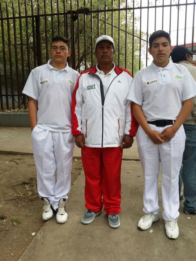 Logran pelotaris tlaxcaltecas su pase a la Olimpiada Nacional