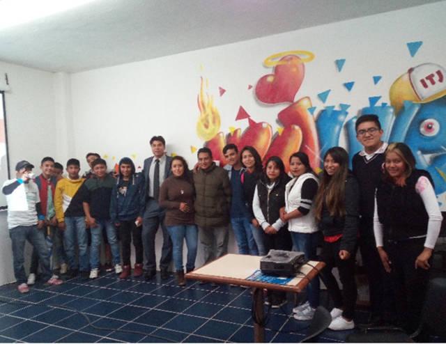 """Llevan a cabo conferencia """"Violencia en el Noviazgo"""" en San Pablo del Monte"""