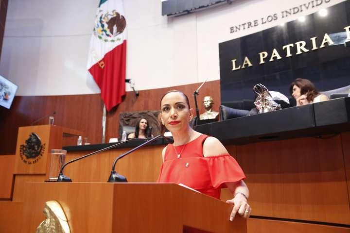 Presentó Adriana Dávila dictamen que reforma Ley Contra Trata de Personas