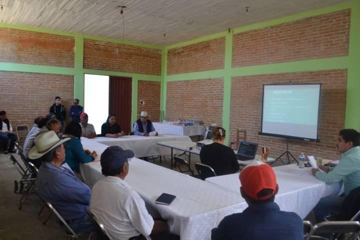 Se realizó el 1er consejo de desarrolló municipal en favor de los productores en Tzompantepec