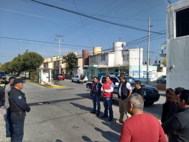 Alcalde refuerza la seguridad atendiendo comités de vigilancia en Girasoles