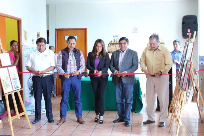 Expone el IAIP Tlaxcala galería itinerante en Totolac