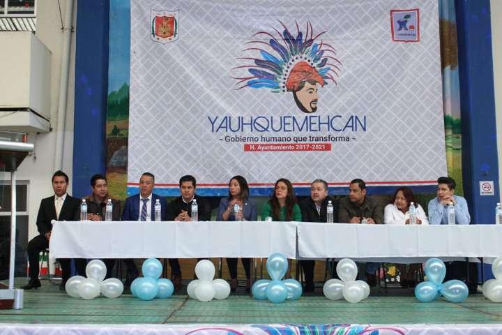 Apizaco, Yauhquemecan, Tlaxcala y Muñoz de Domingo Arenas atienden requerimientos del IAIP Tlaxcala