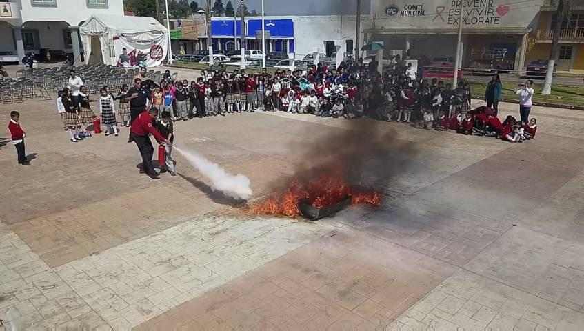 Clausuran en Tzompantepec Semana De Prevención Del Delito