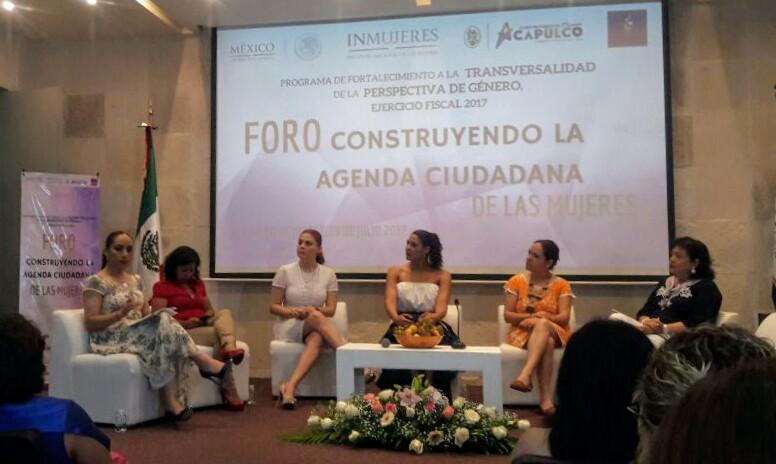 Dicta Adriana Dávila en Acapulco conferencia sobre situación de la trata de personas en el país