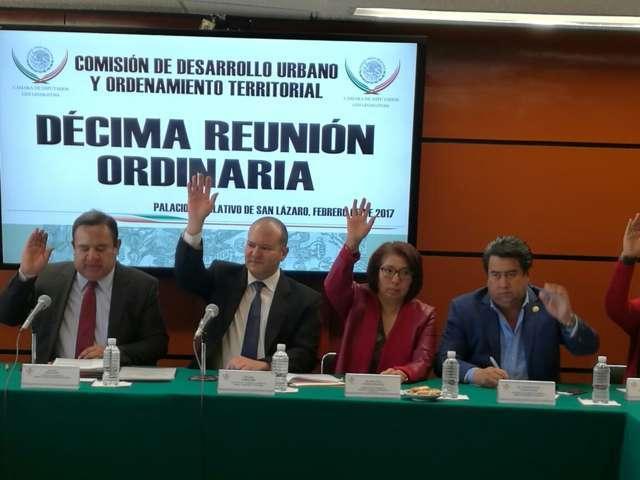 Avala Juan Corral modificaciones a la Ley de Asentamientos Humanos y de Vivienda