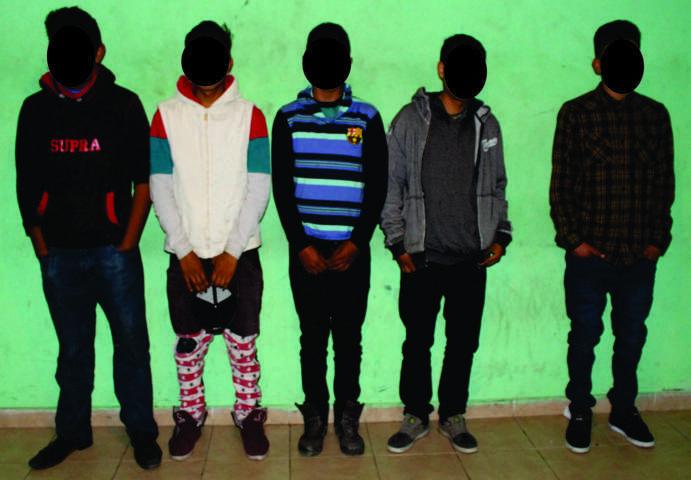 Policias de Zacatelco detiene a narcomenudistas