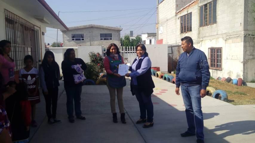 "Se entregan resultados de tamizajes en Tzompantepec preescolar ""Paulina Maraver"""