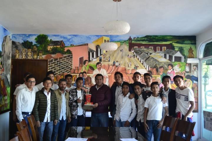 Equipo Tzompantepec de Rescatando Valores obtiene el 2do lugar en 4ta división
