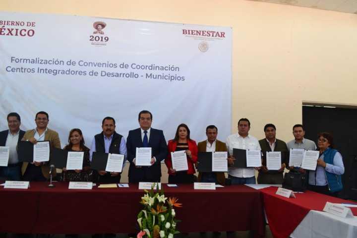 Participa ARM en firma para instalar centros integradores de la Secretaría del Bienestar