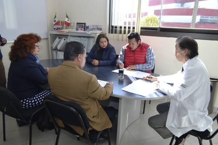 Firma Tzompantepec convenio de servicios de salud con ITAES