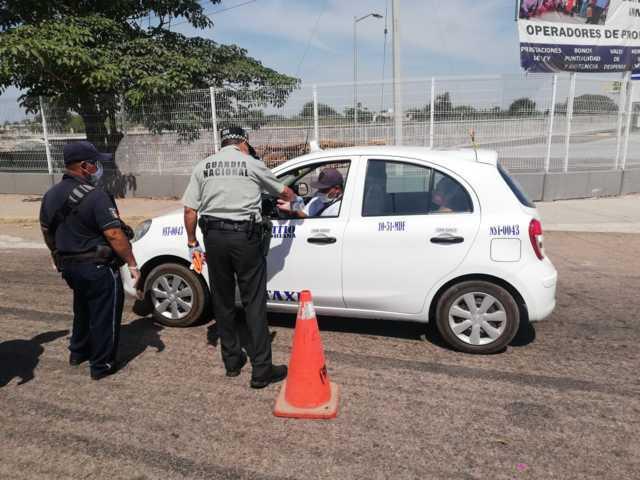 Guardia Nacional fortalece medidas sanitarias y de prevención del delito en apoyo a autoridades locales