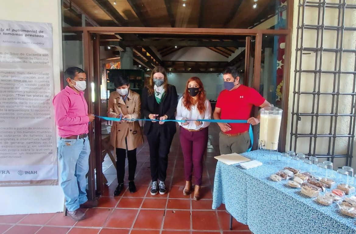 Inauguran en Tlaxcala la muestra Tras la pista del pasado: Cacaxtla y sus materiales arqueológicos