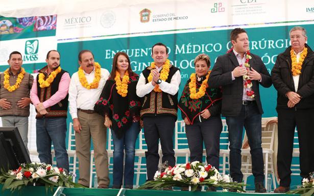 Ginecólogos del IMSS operan de cáncer cérvico uterino a 66 mujeres mazahuas