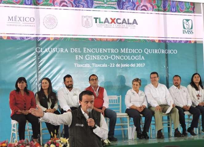 En una semana, oncólogos del IMSS revisan en Tlaxcala a 1,164 mujeres para prevenir cáncer