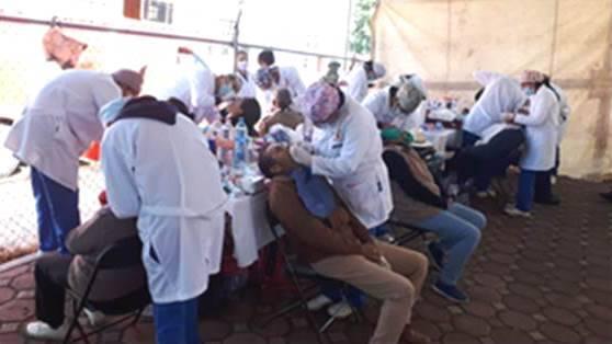 IMSS realizó cruzada de salud interinstitucional en San José Teacalco