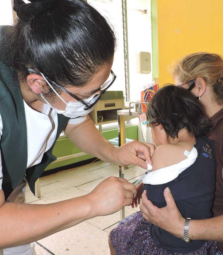 Se invita a madres y padres de familia a vacunar a sus hijos contra Sarampión y Rubéola