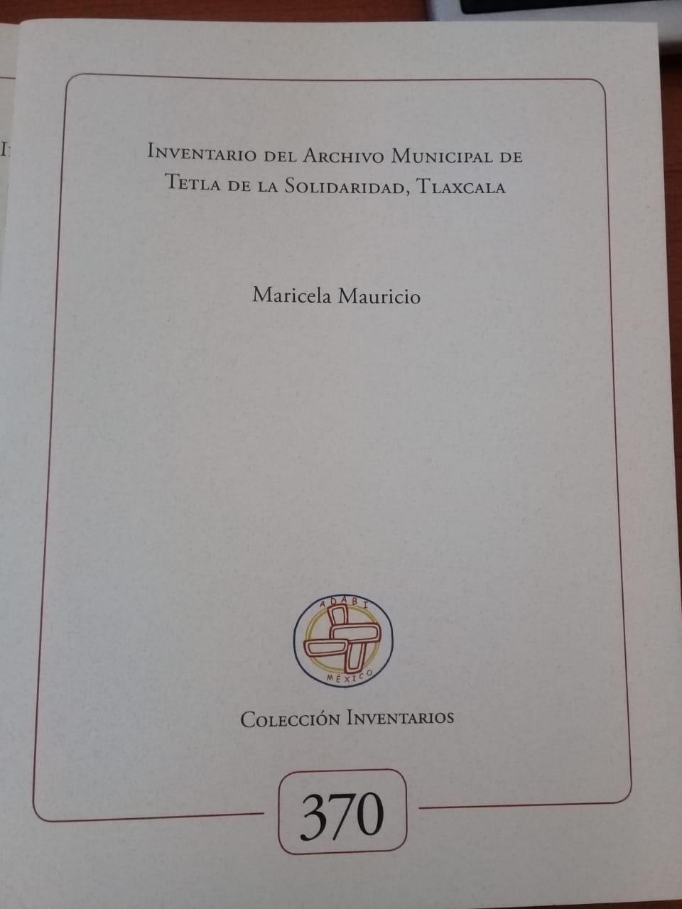 Se consolida Archivo Histórico municipal de Tetla De La Solidaridad