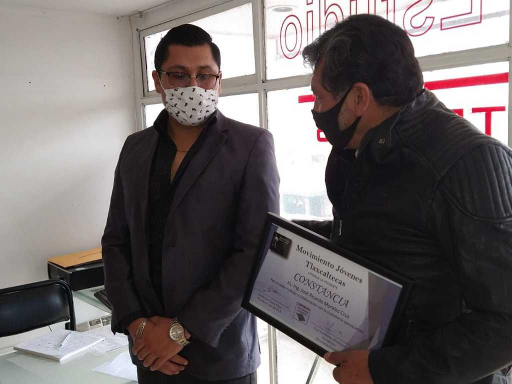 Reconocen labor social de Ricardo Morales Cruz en Apizaco