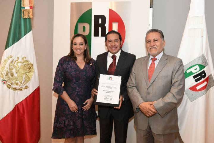 Designan a Erick Lagos nuevo Delegado CEN del PRI en Tlaxcala