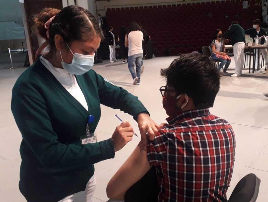 Comienza vacunación contra Covid en jóvenes de 18 a 29 años en Tlaxcala