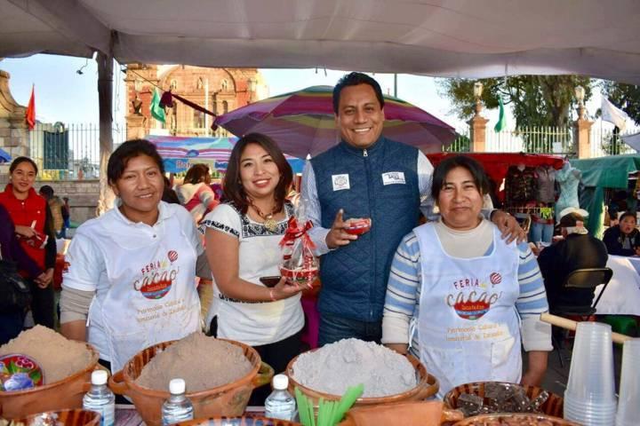 Asiste Juan Carlos Sánchez García a la Feria Gastronómica–Artesanal del Cacao