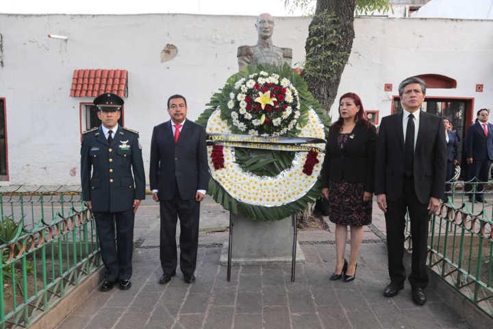 CLXXII Aniversario Luctuoso del Coronel Felipe Santiago Tetlamatzin Saldaña