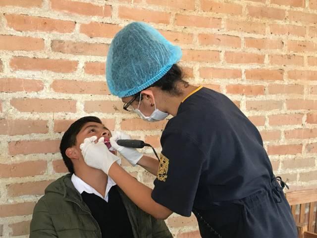 "Realizó ayuntamiento de Tzompantepec ""Jornada de Salud Bucal"""