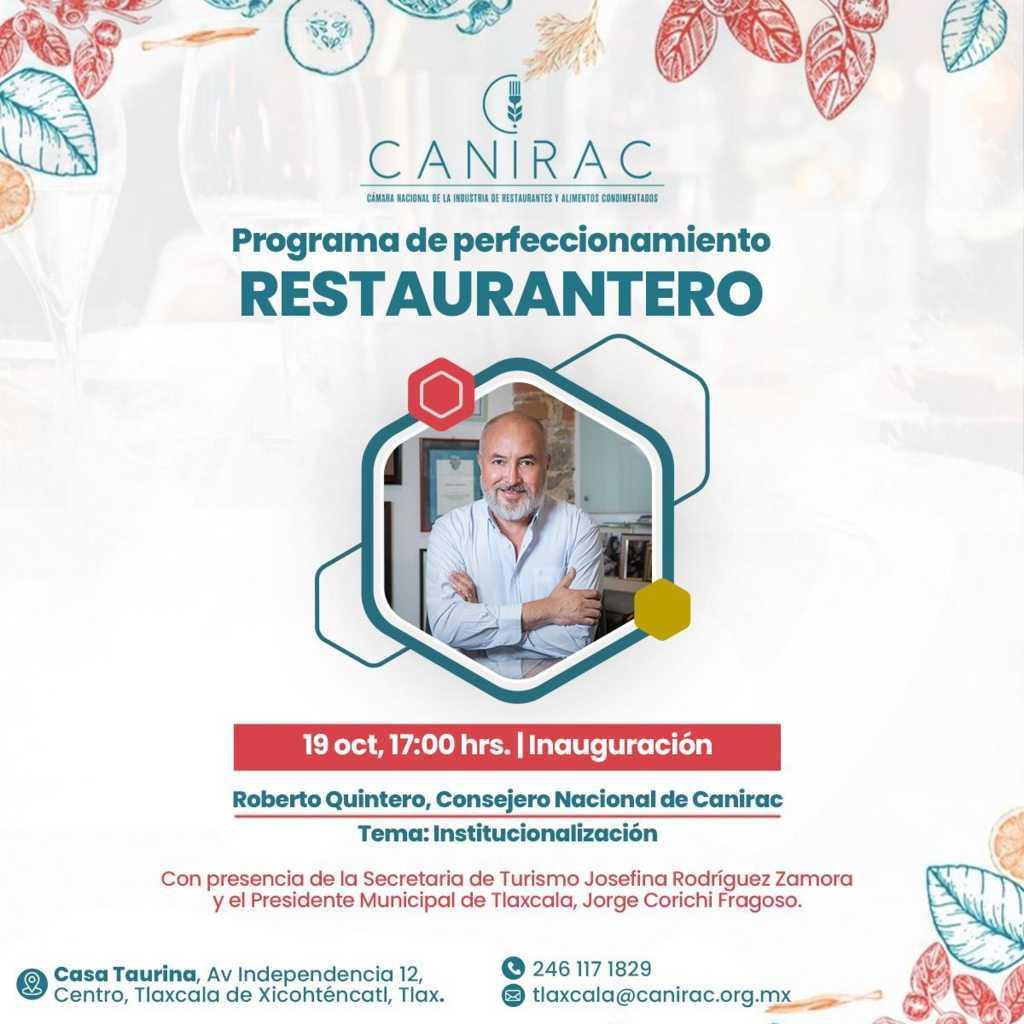 Supuestamente la CANIRAC realizará programa para fortalecimiento restaurantero