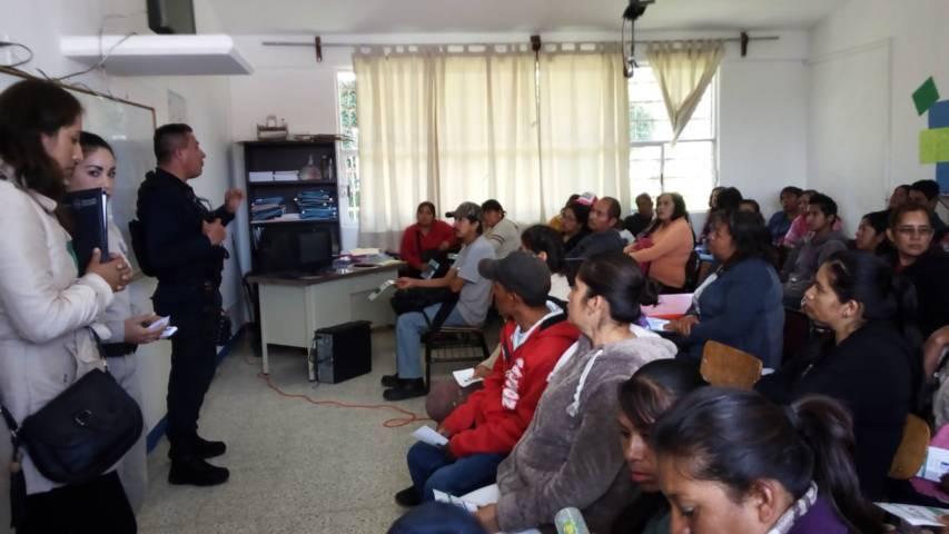 Continua en Tetla el programa Tolerancia Cero Alcohol