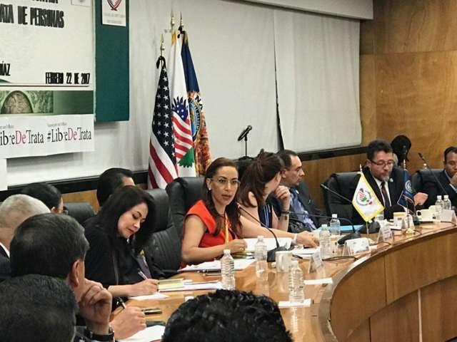 Defiende Adriana Dávila que reformas a la Ley Contra la Trata de Personas son necesarias