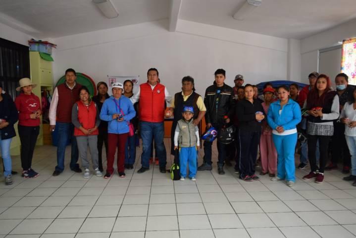 """Programa """"Cuidando tu Riñón"""" se realiza en escuelas de Tzompantepec"""