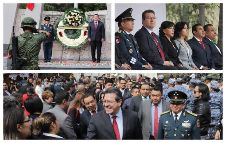 Mena encabeza ceremonia de aniversario de la gesta de los Niños Héroes