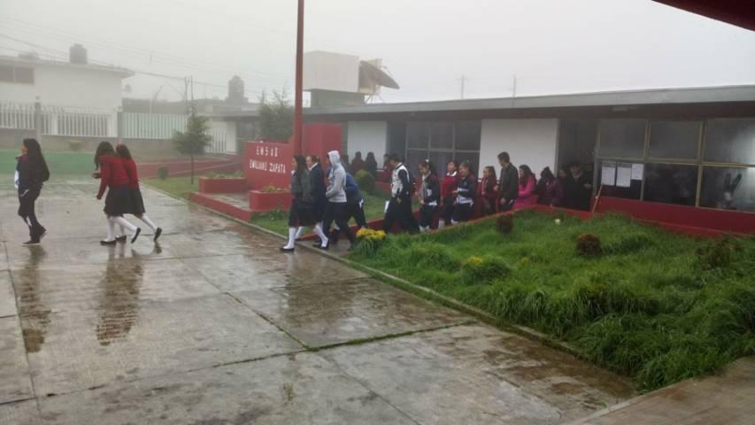 Promueve Emsad Tlaxcala cultura de protección civil entre estudiantes