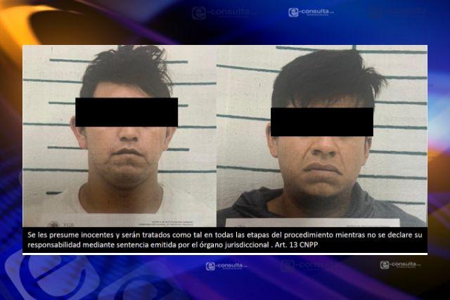 Por robo de vehículo y secuestro exprés FGR obtiene prisión preventiva contra dos personas