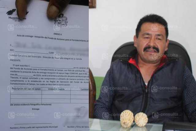 Campesinos denuncian Fraude y complicidad del Comisariado Ejidal de Huamantla