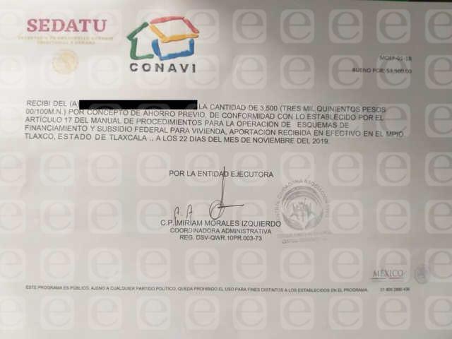 Ayuntamiento de Tlaxco advierte sobre personas que cometen fraudes de vivienda