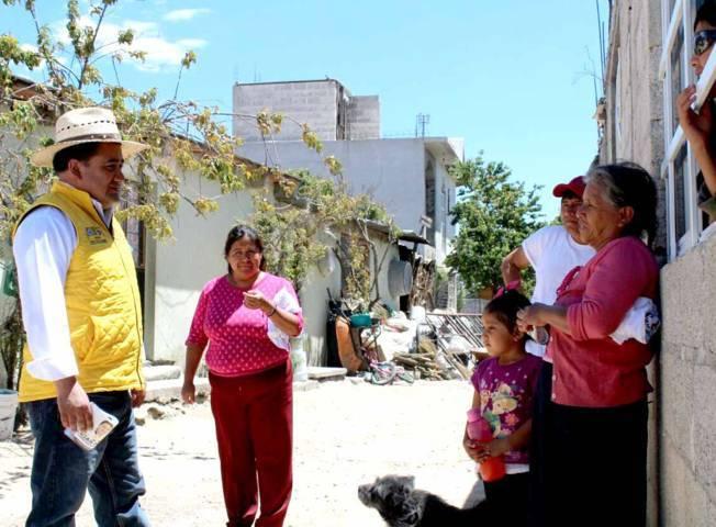 Auguran triunfo a César Fredy en Guadalupe Tlachco