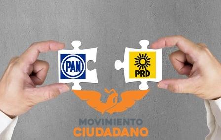 PRD encabezará fórmula del Senado; PAN pondrá candidatos en los distritos I y III