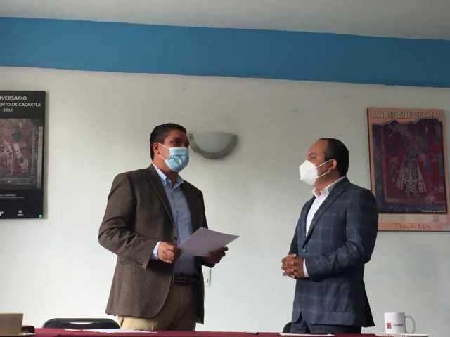 Reconocen labor del municipio de Nativitas en materia de seguridad pública
