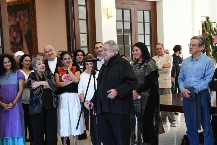 Secretaría de Cultura e INBAL lamentan fallecimiento de Manuel Felguérez Barra, pionero del arte abstracto en México
