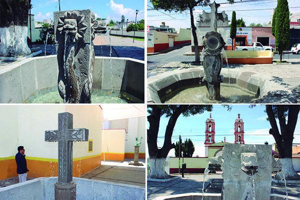 Realiza Ayuntamiento de Huamantla rescate de fuentes históricas