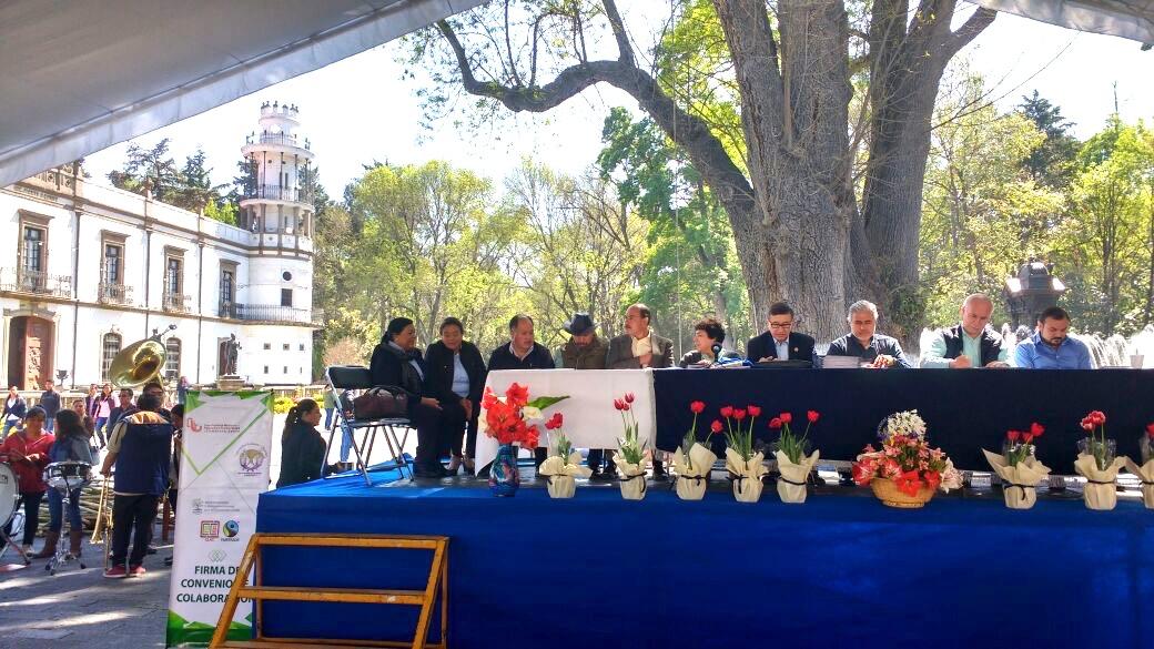 Implementarán Universidad de Chapingo y Martha Palafox proyectos agrícolas en Tlaxcala