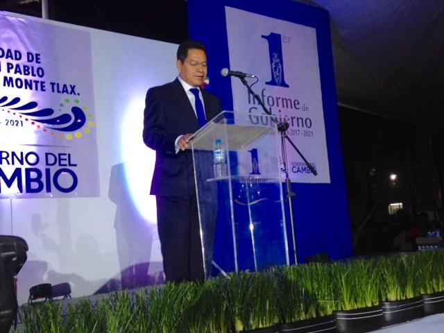 Más de 123 mdp en 175 acciones realizadas; Cutberto Cano Coyotl