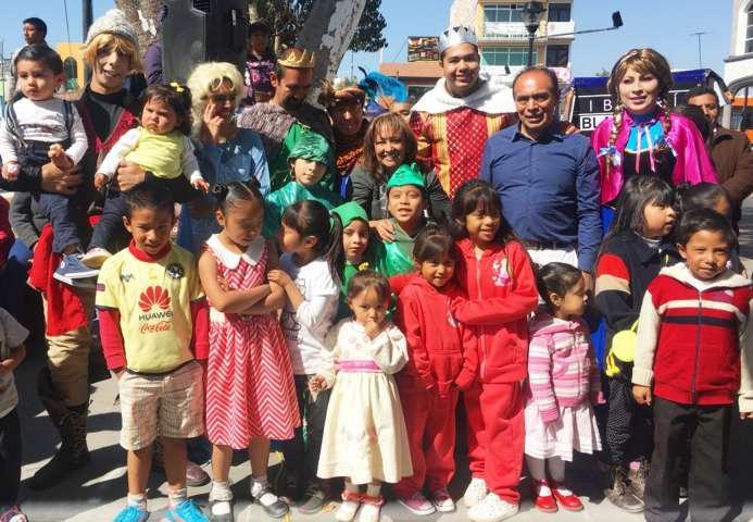 Anuncia Lorena Cuéllar recorridos por Tlaxcala con motivo del Día de Reyes