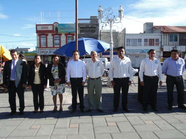 Anuncia Carlos Luna Vázquez entrega de tres edificios a la UAT en Amaxac